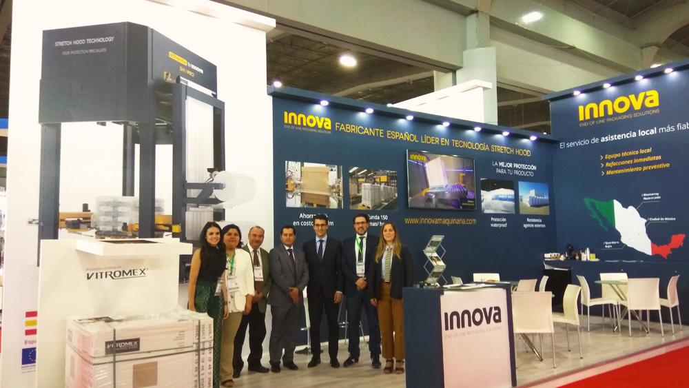 Equipo Innova Eurotecsa y ACS en Expo pack 2018