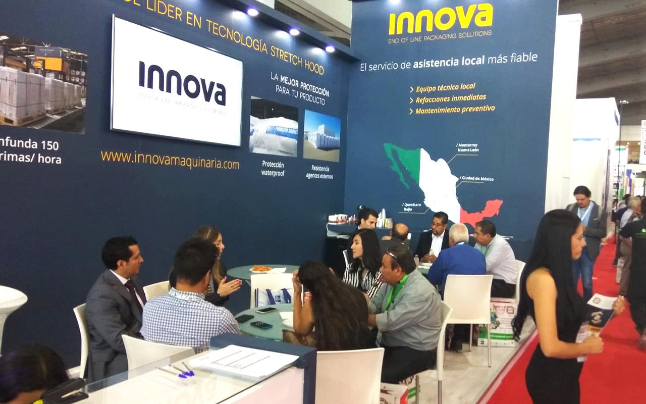 Stand de Innova Maquinaria en Expo Pack 2018