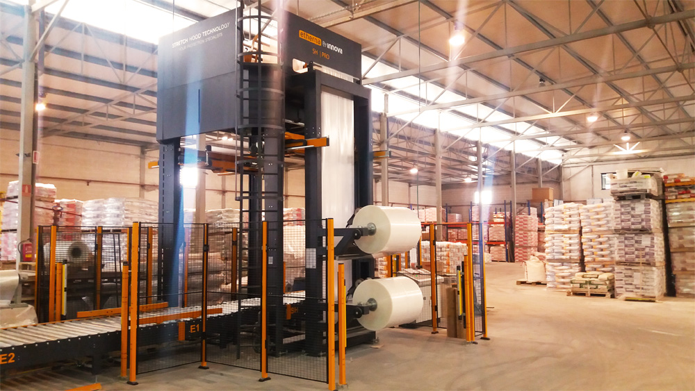 Stretch Hood en fabrica de cemento Rodacal Beyern