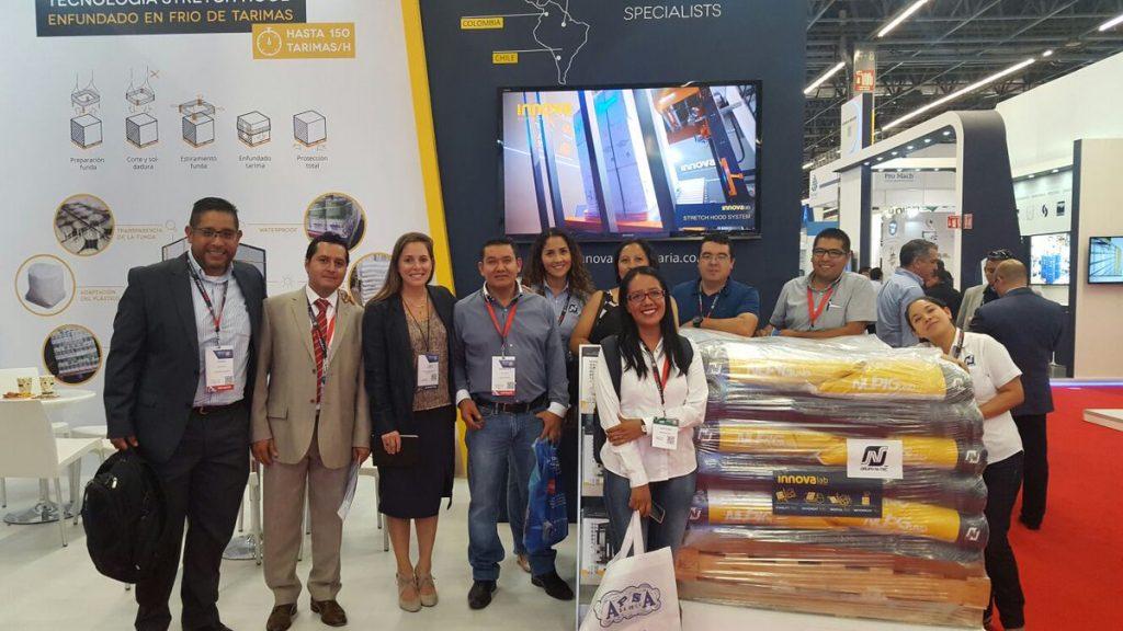 Nutec y el equipo Innova en ExpoPack